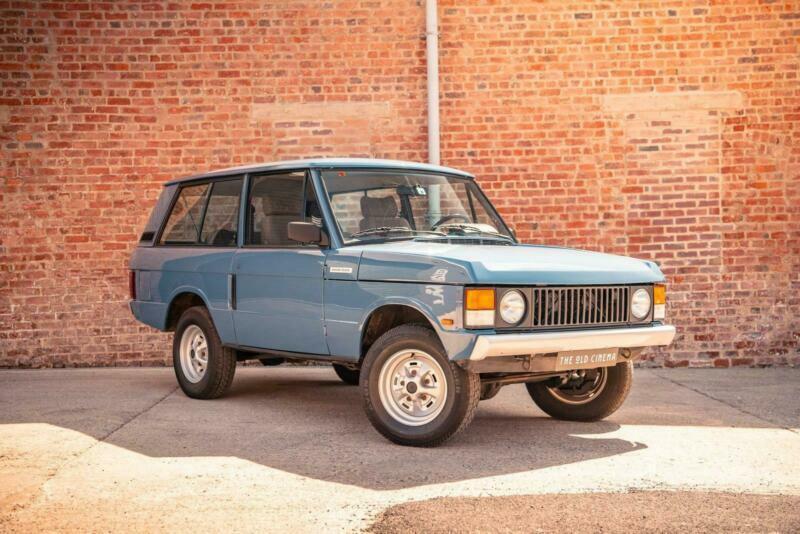 Classic 3 DR Blue Range Rover