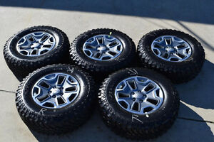New Take-offs 2016 Jeep wrangler wheels + tires