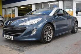 BAD CREDIT CAR FINANCE AVAILABLE 2010 60 PEUGEOT RCZ 1.6THP 156 SPORT