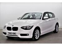 2013 BMW 1 Series 116D SE Diesel white Manual