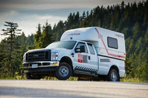 2010 Ford F-250 supercab Pickup with Mobile Treatment Center MTC