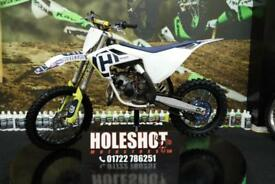 2018 HUSQVARNA TC 85 MOTOCROSS BIKE BIG WHEEL, NEW GRIPS