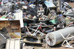 Newmarket and Georgina scrap metal pick-up