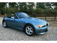 BMW Z3 2.8 CONVERTIBLE SPORTS 2DR ROADSTER WARRANTIED LOW MILEAGE