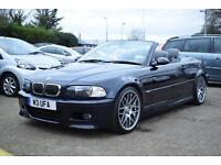 BMW M3 3.2 M3, GREY NAPPA LEATHER, ELC HEATED SEATS, 77,000 MILES ONLY
