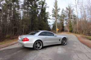 2005 Mercedes SL-500 Roadster Hardtop MINT CONDITION