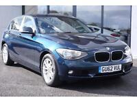 2012 BMW 1 Series 2.0 120d BluePerformance SE 5dr