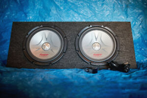 PIONEER SUBWOOFERS + ROCKFORD FOSGATE PUNCH P325.1 AMP