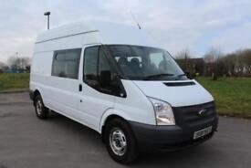 Ford Transit 2.2TDCi ( 125PS ) ( EU5 ) 350 LWB 9 SEATER DIESEL CREW / COMBI VAN