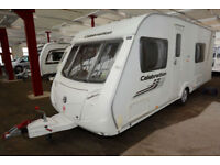 2010 Swift Celebration 550 4 Berth Touring Caravan with Fixed Bed