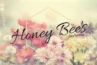 Honey Bee's Dayhome - Opening Oct 1 - East Side
