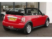 2012 MINI Convertible 1.6 One (Pepper pack) 2dr (start/stop)