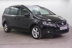 2016 SEAT Alhambra TDI ECOMOTIVE SE Diesel black Manual