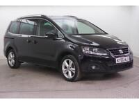 2016 SEAT Alhambra TDI ECOMOTIVE SE Diesel black Manual