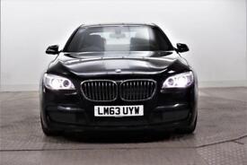 2013 BMW 7 Series 730D M SPORT Diesel black Automatic