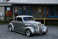 1937 CHEVY 5 WINDOW COUPE MINT BODY