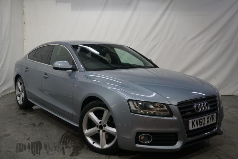 2010 audi a5 sportback tdi s line diesel silver manual in bury manchester gumtree. Black Bedroom Furniture Sets. Home Design Ideas