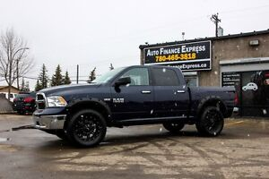 2016 Ram 1500 LIFTED, Crew Cab 4WD BEAUTY, WE FINANCE ALL