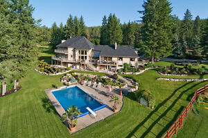 Kelowna Luxury Lakeview Acreage Estate Home!