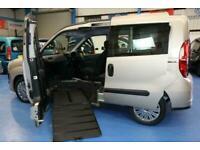 Fiat Doblo Wheelchair UPFRONT disable passenger Next to the Driver