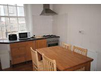 A spacious 3 double bedroom (no lounge) split-level maisonette in Islington