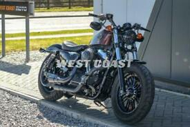 208 HARLEY-DAVIDSON SPORTSTER XL1200X FORTY-EIGHT in TWISTED CHERRY
