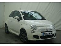 2013 Fiat 500 SPORT Petrol white Manual
