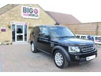 2014 LAND ROVER DISCOVERY 4 SDV6 COMMERCIAL XS PICK UP DIESEL