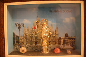 Religious Italian Shadow Box Picture Frame