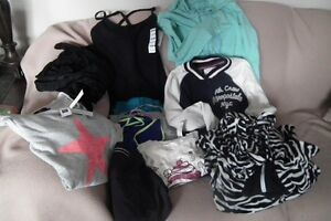 Numerous items ladies small & youth 14 ten items