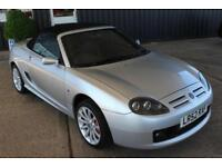 TROPHY CARS MGF MGTF 160,OXFORD LEATHER,29000 MLS, NEW HEADGASKET,WARRANTY