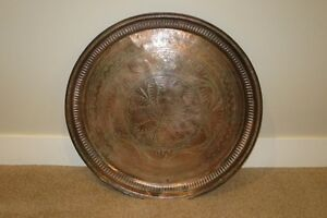 Solid copper wall plate