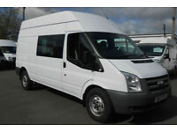 Ford Transit 2.2TDCi ( 100PS ) ( EU5 ) ( RWD ) 350L H/Roof Double 350 LWB