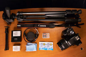 CANON DSLR PHOTOGRAPHY KIT - Camera Plus Accessories