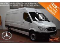 2013 Mercedes-Benz Sprinter 2.1TD 313CDI MWB-BLUETOOTH-CRUISE#NO VAT#NO VAT#