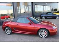 TROPHY CARS MGF MGTF SPARK 135,ONLY 18000 MILES,NEW TYRES,HEADGASKET,WARRANTY