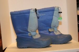 Columbia and Sorel Size 5 children's winter boots (2 pairs)