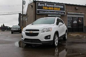 2014 Chevrolet Trax LTZ AWD RENT TO OWN $9/DAY UBER DRIVERS CALL