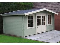5.1m x 3m log cabin