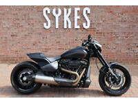 2019 Harley-Davidson Softail FXDR 114 in Black Denim