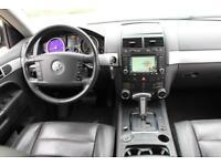 LHD LEFT HAND DRIVE Volkswagen Touareg 3.0TDI V6 auto 2006 BLACK