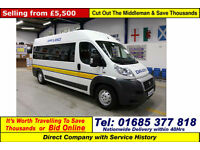 2011 - 61 - FIAT DUCATO 120 MULTIJET 2.3JTD 8 SEAT DISABLED ACCESS PTS BUS