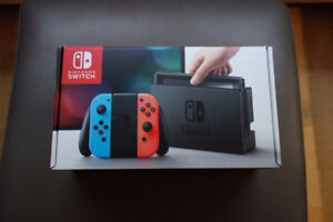 SWITCH Console NEON *NEW* Sealed in box BNIB