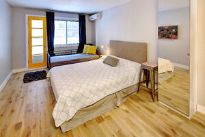 DOWNTOWN MONTREAL FURNISHED STUDIO APARTMENTS