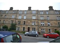 Two double bedroom ground floor property in popular Dalry area of Edinburgh in the West End.