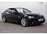 2015 BMW 5 Series 520D M SPORT Diesel black Automatic