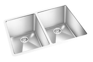 Rectangular Stainless Steel Sink AKCRC-5151 double bowl