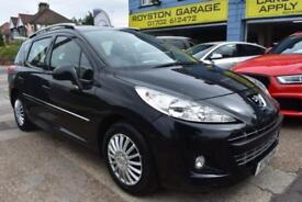 BAD CREDIT FINANCE AVAILABLE 2012 12 reg Peugeot 207 SW 1.6HDi