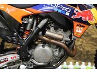 2014 KTM SXF 350 2014 MOTOCROSS BIKE WP SUSPENSION, NEW GRIPS