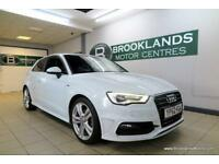 Audi A3 2.0 TDI S LINE 150PS [AUDI HISTORY, LEATHER and ?20 ROAD TAX]